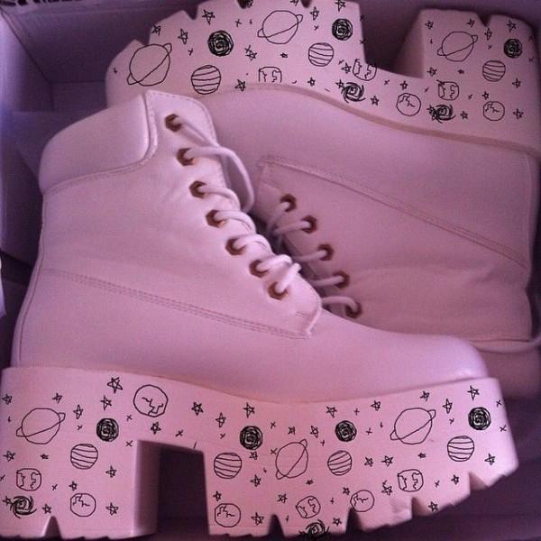 botas rosadas