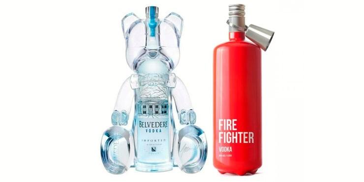 22 Ingeniosas Botellas De Alcohol Que Me Llevarían A La
