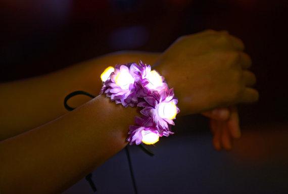 bracalete flores