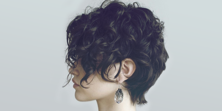 Cortes de cabello para rizos cortos