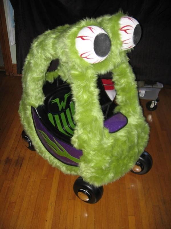 carrito monstruo