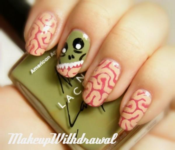 cerebro uñas