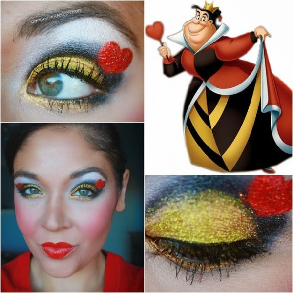 corazoes maquillaje