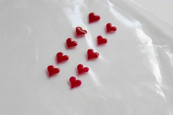 corazones estampa