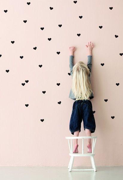 corazones stickers