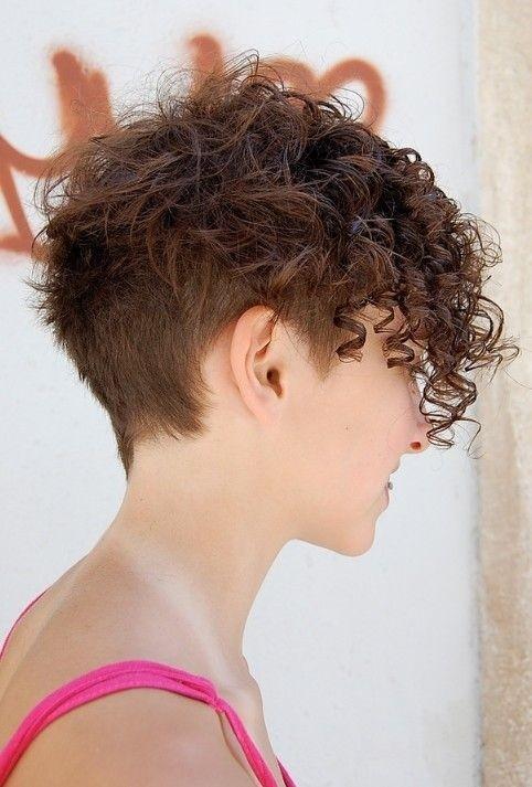 curly hair peinado