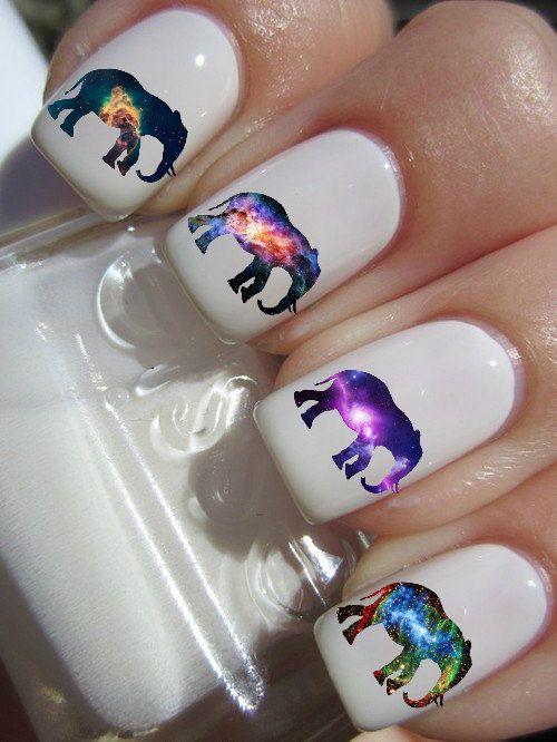 elefantes uñas
