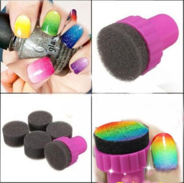 esponja uñas