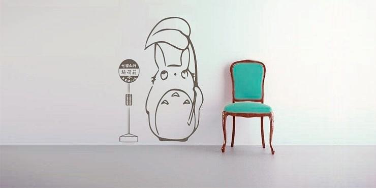 31 estampas para decorar tu habitaci n como siempre has - Dibujos faciles para paredes ...