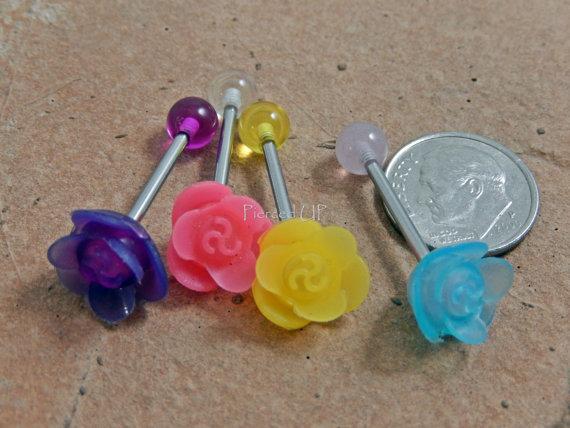 flor piercing