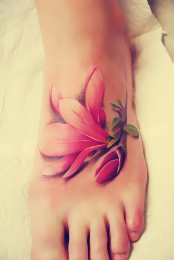 flor tatuajes