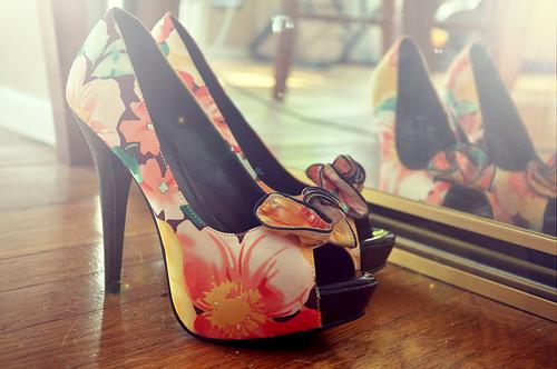 flor zapato