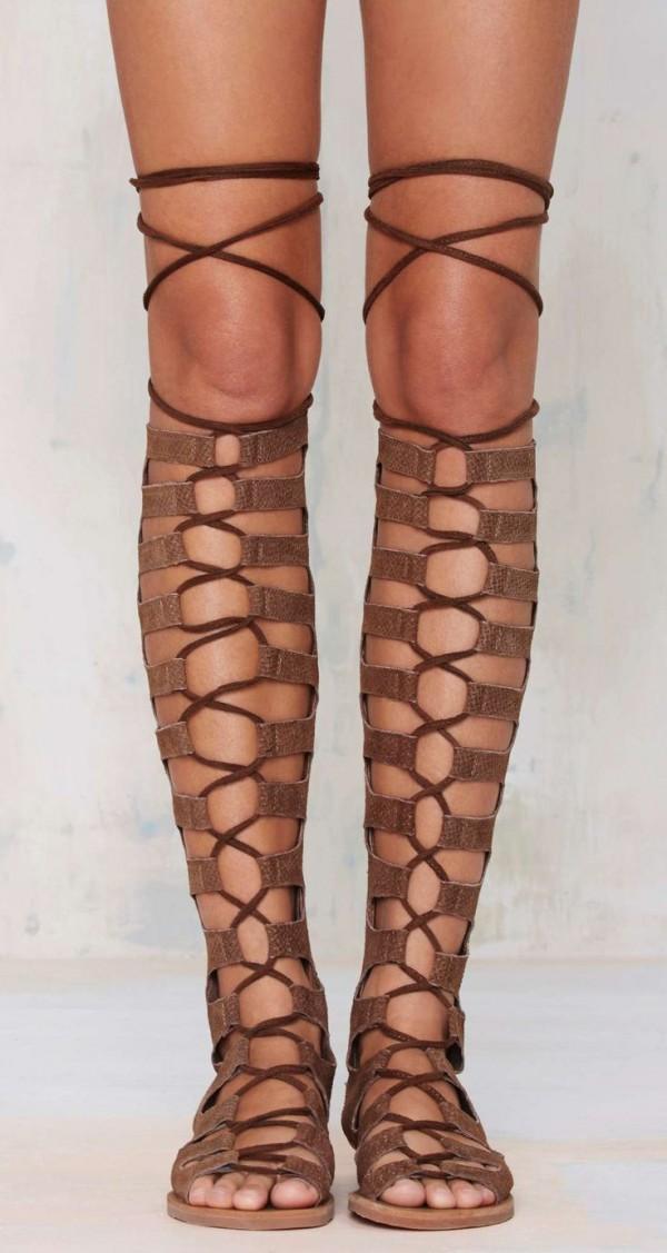 gladiador sandalias