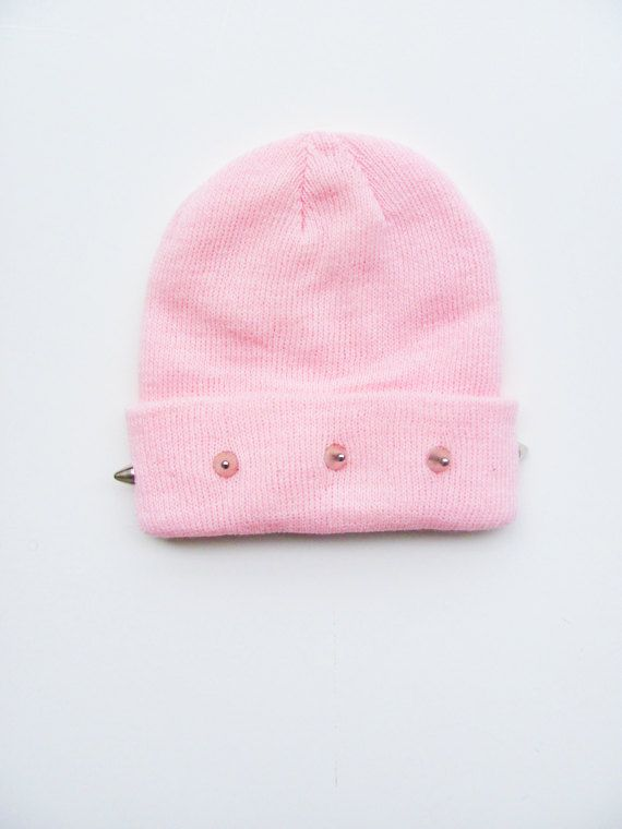 gorro rosa
