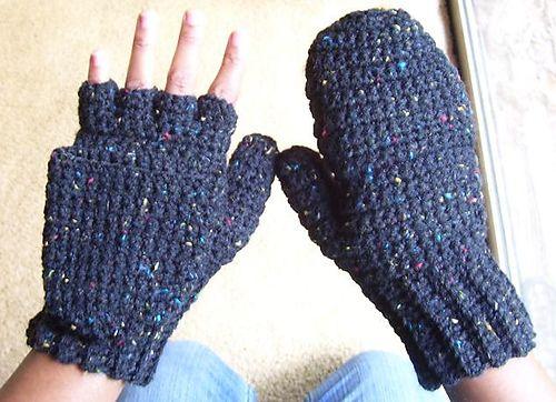 guantes tejidos