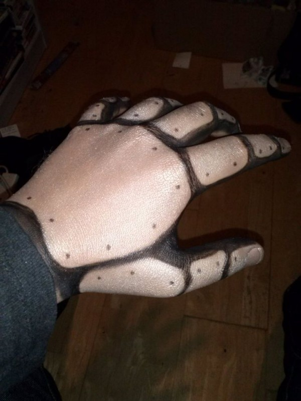 halloween manos