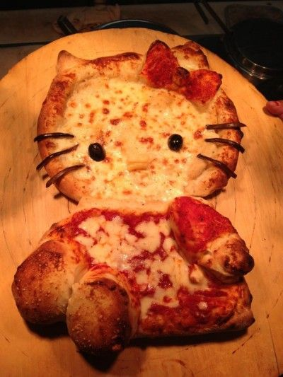 hello kitty pizza