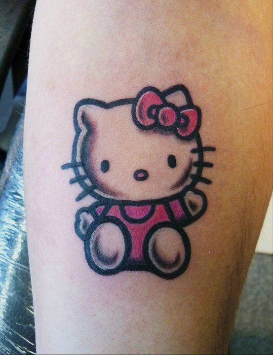 hello kitty tatuaje bonito