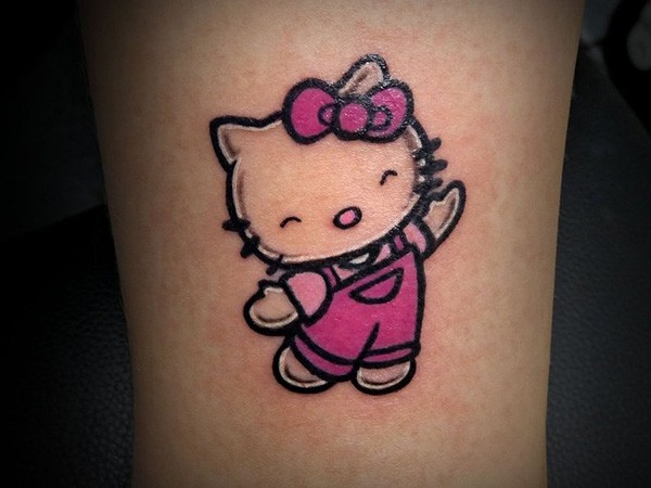 hello kitty tatuajees