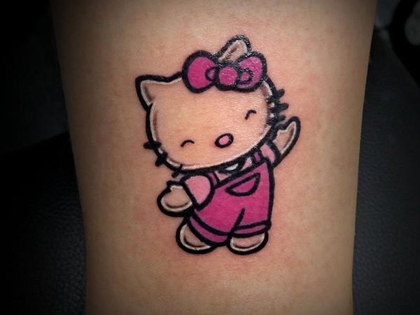 hello kitty tatuajees