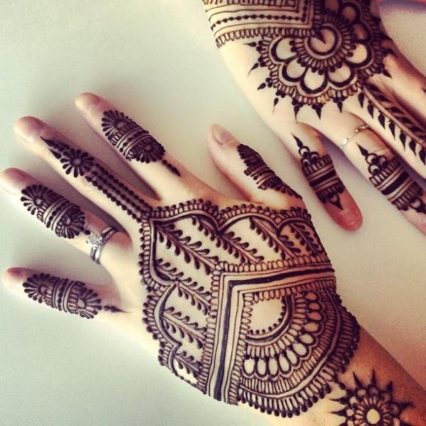 hena hermoso tatuaje