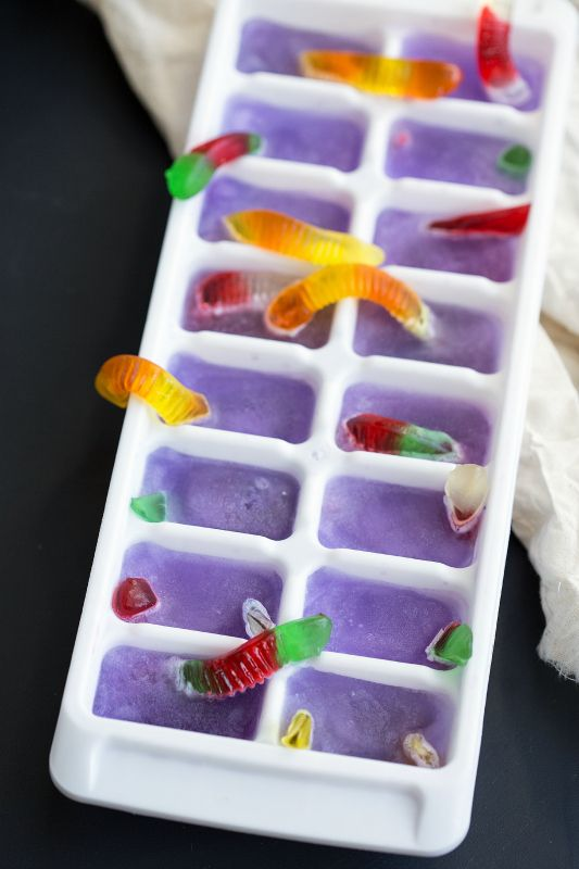 hielos morados