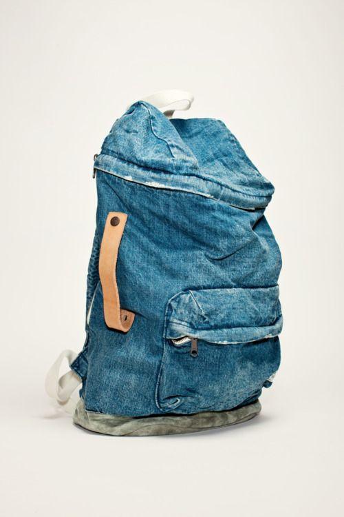 jean bagpack