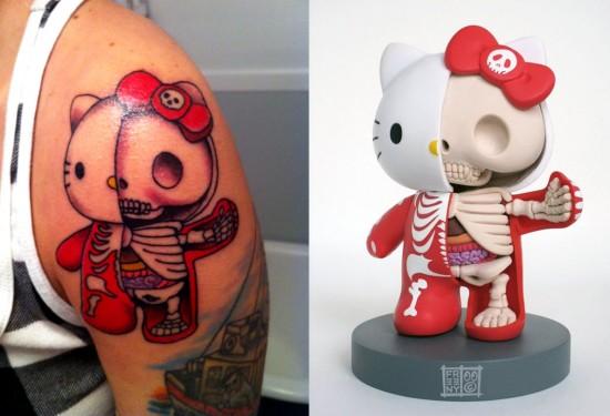 kitty tatuaje