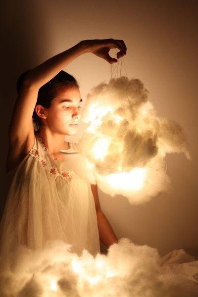 lampara de algodon