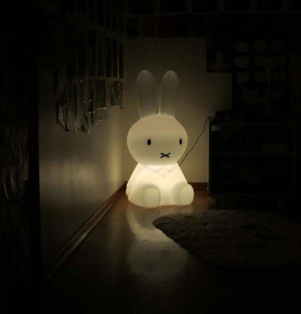 lampara de conejo