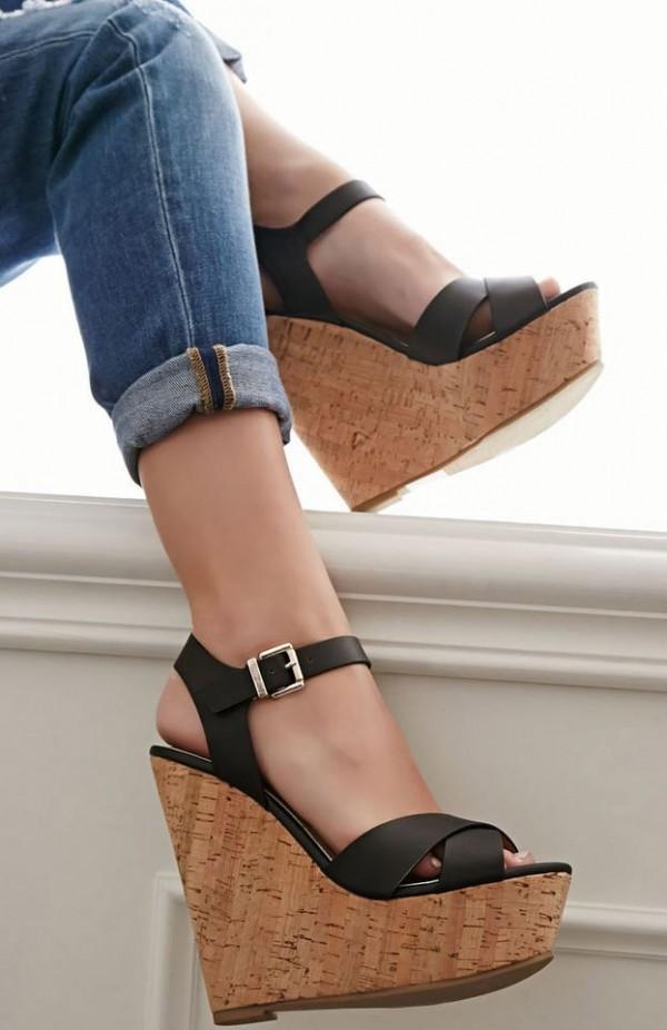 madera zapatos