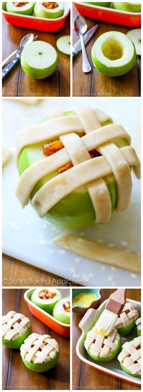 manzana pie