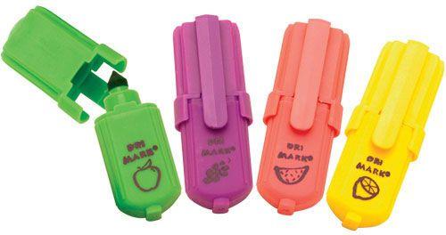 marcadores dulces