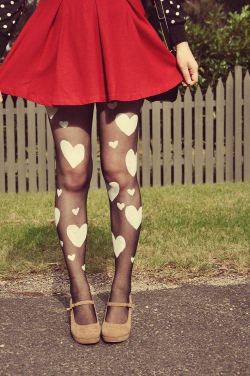 medias corazones