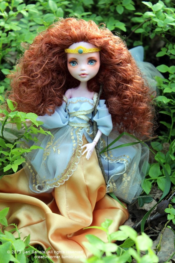 merida monster high
