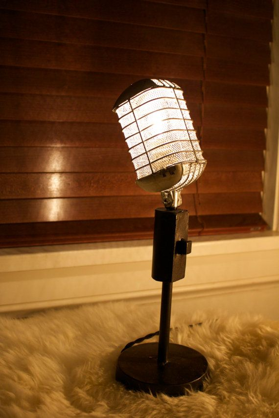 microfono lampara