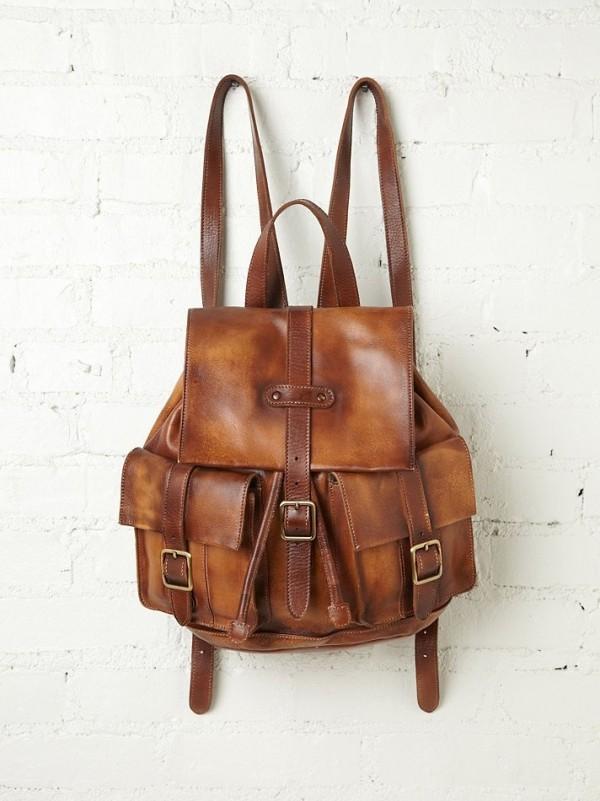 mochila antigua