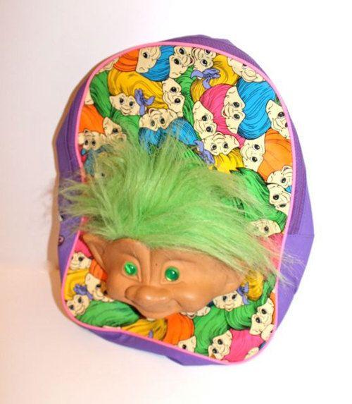mochila troll