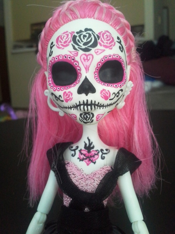 monster high hermosa catrina