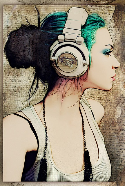 mujer musica
