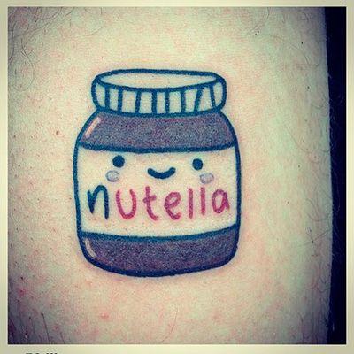 nutella tattoo