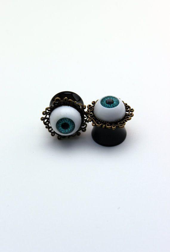 ojos aretes