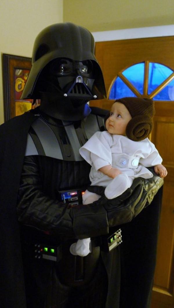 padre e hija disfraz
