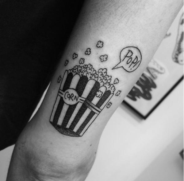 palomitas tatuaje