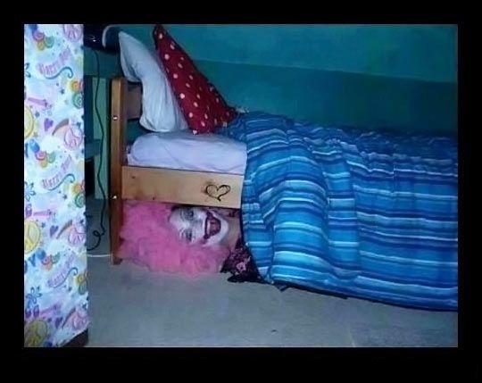 payaso cama