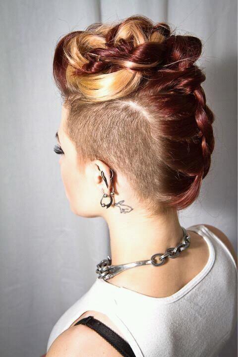 peinados atrevidos
