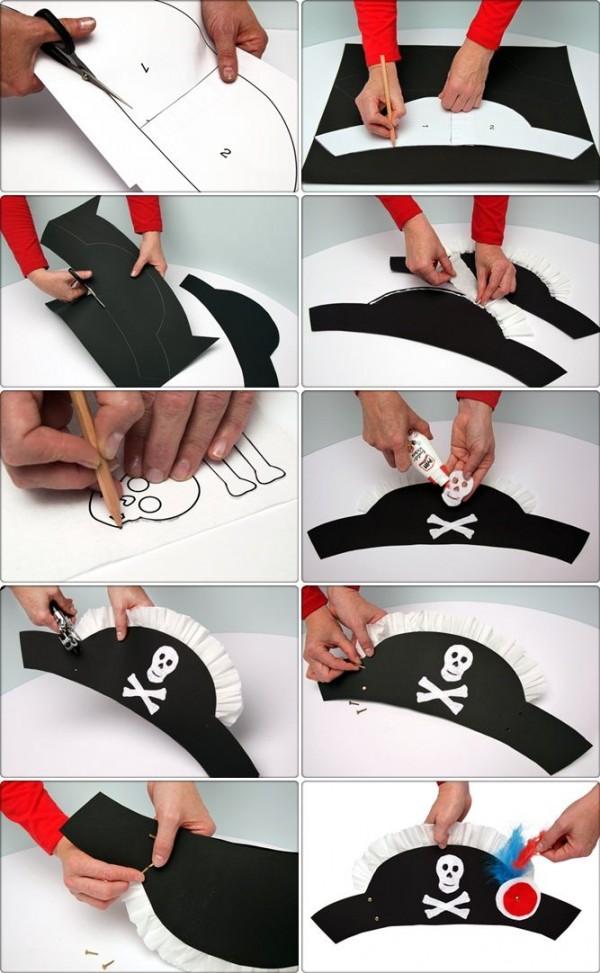 pirata sombrero