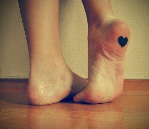 planta del pie tatuaje