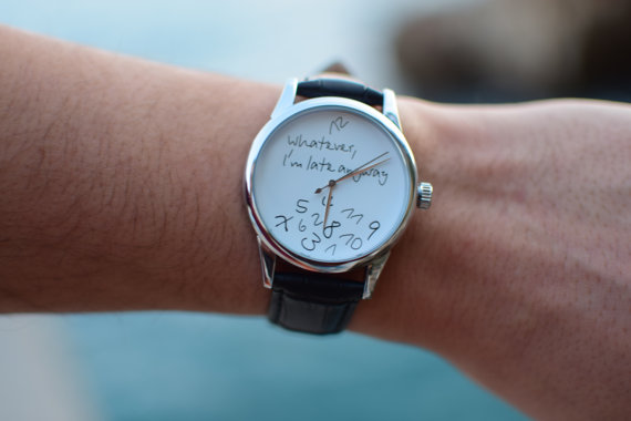 reloj curioso