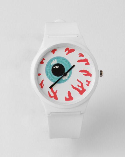 reloj ojos